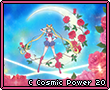 Crystal Cosmic Power