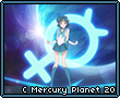 Crystal Mercury Planet
