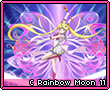 Crystal Rainbow Moon